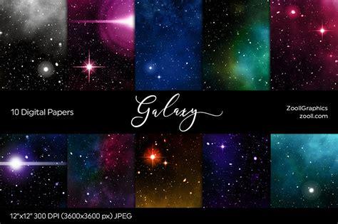 galaxy digital galaxy digital papers by zoollgraphics thehungryjpeg