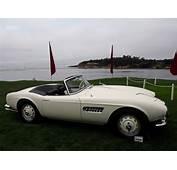 Elvis BMW 507 Displayed On Lawn In Pebble Beach