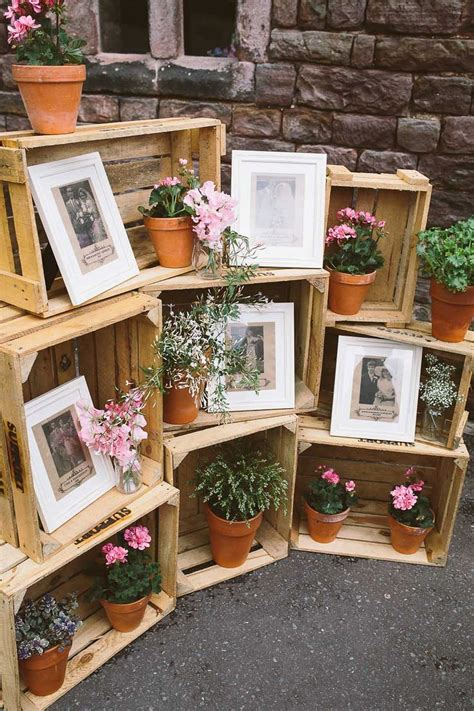Decorating Ideas Using Wooden Crates 20 Great Ideas To Use Wooden Crates At Rustic Weddings
