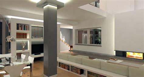 rivestimenti pilastri interni arredamento roma come sfruttare le colonne in casa
