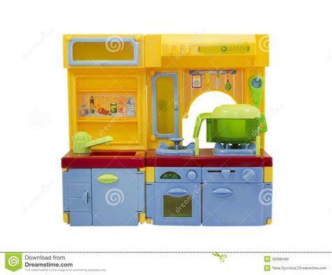cuisine plastique jouet jouet en plastique de cuisine d isolement sur le blanc