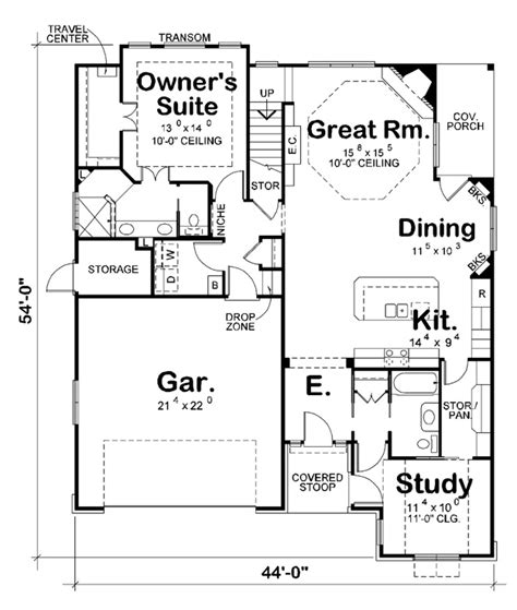 ultimate house plans ranch house plan 101009 ultimate