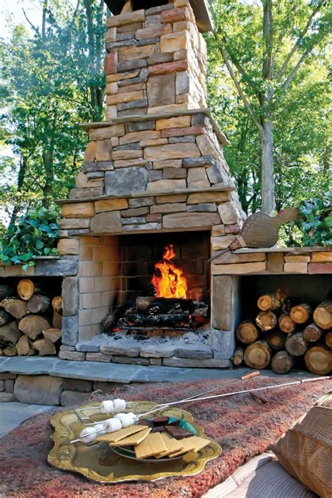 outdoor fireplaces outdoor fireplaces