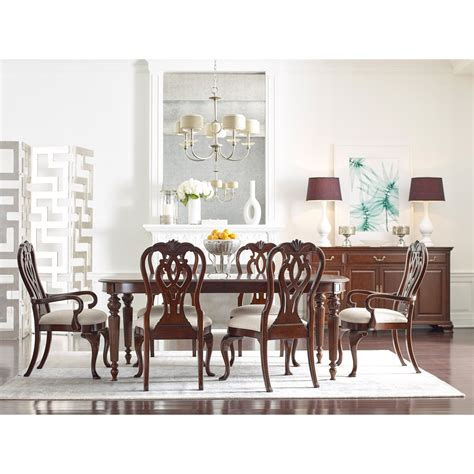 kincaid dining room furniture kincaid furniture hadleigh formal dining room group
