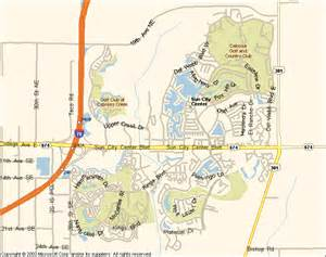 Sun City Florida Map by Sun City Center Florida 33573