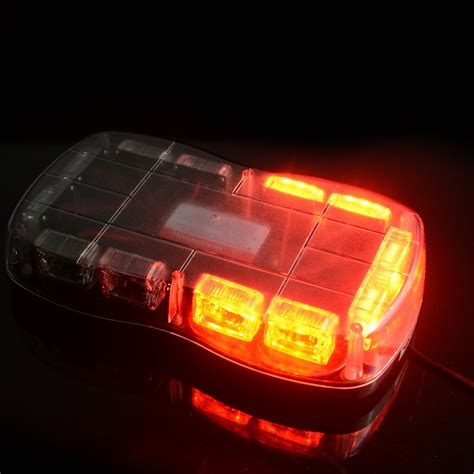 Led Strobe Light Bars 18 Quot 36 Led Emergency Warning Strobe Light Bar Beacon Tow Truck Roof Top L Ebay