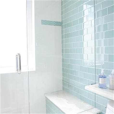 blue subway tile bathroom blue cottage bathroom with blue subway shower tiles