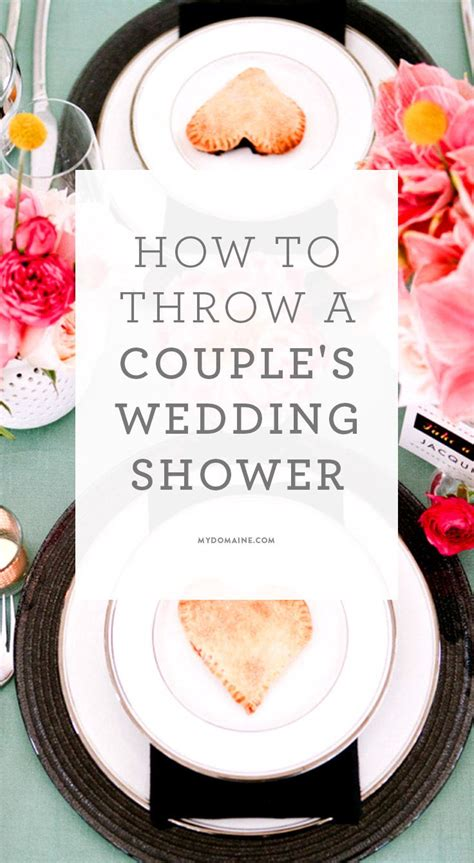 Wedding Shower Ideas by How To Master The New Trend In Bridal Showers
