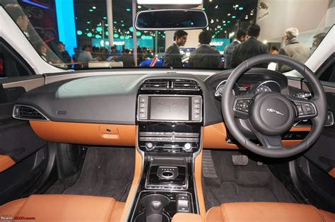 jaguar cars interior jaguar xe launched auto expo 2016 team bhp