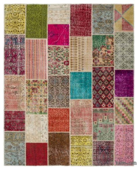 Turkish Patchwork Rugs - k0021187 turkish patchwork rug