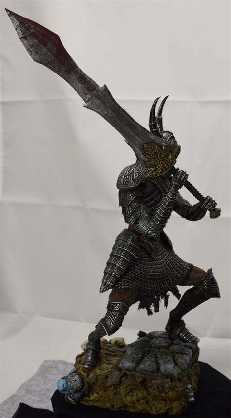 dark souls black knight collectable side view