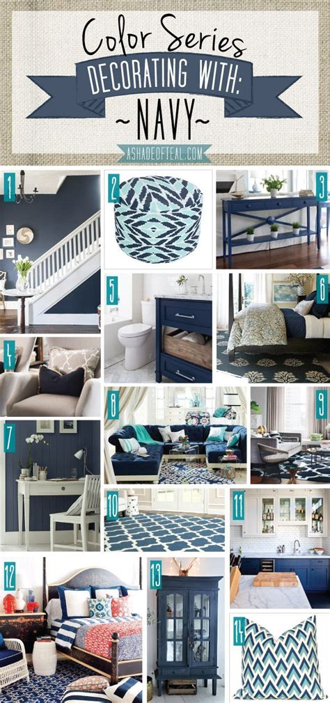 best 25 navy home decor ideas on blue