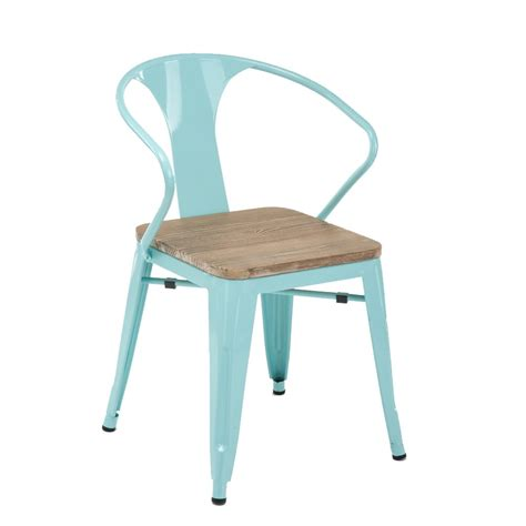 tolix armchair xavier pauchard duck egg blue tolix arm chair with