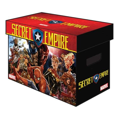 libro secret empire marvel graphic comic box secret empire libreria taj mahal comics