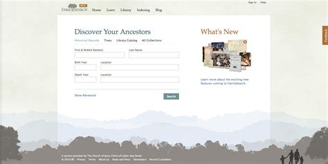 Familysearch Org Records Changes To Familysearch Org Genealogy Wise