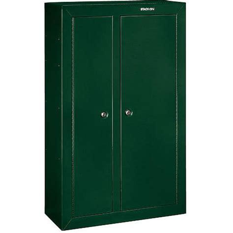 stack on gun cabinet door organizer stack on 14 gun matte black cabinet with bonus door