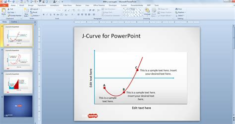 Free J Curve PowerPoint Templates