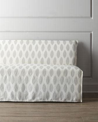 lee industries banquette lee industries casandra slipcovered banquette i horchow