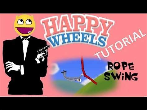 happy wheels full version rope swing happy wheels rope swings tutorial youtube