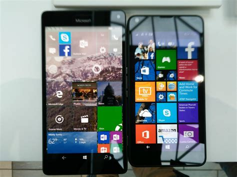 lumia 640 xl vs 1520 size comparison lumia 950 xl vs the lumia 640 640 xl