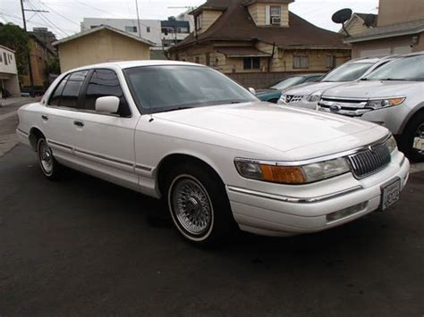 automotive air conditioning repair 1994 mercury grand marquis parking system buy used 1994 mercury grand marquis in los angeles california united states for us 5 500 00