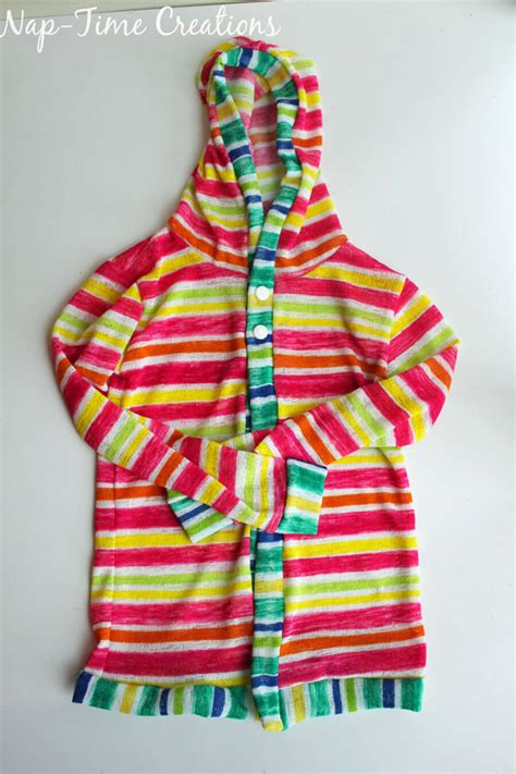 hooded t shirt pattern hooded t shirt free pattern for kids page 2 of 2 life