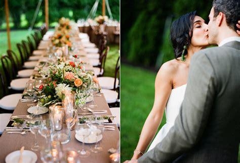 A Laid Back Backyard Wedding   Once Wed
