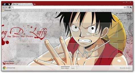 google themes anime one piece one piece google chrome themes
