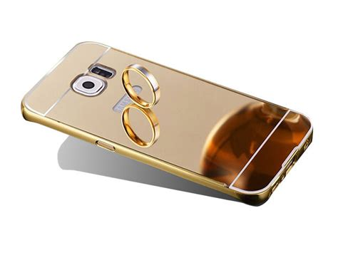 Bumper Sled Mirror S7 Edge etui bumper plecki mirror do galaxy s7 edge złote 4kom pl