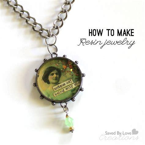 how to make bezel jewelry resin bezel pendant tutorial