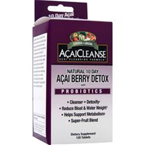 Acai Cleanse 10 Day Detox Reviews by Garden Greens Acaicleanse 10 Day Acai Berry Detox