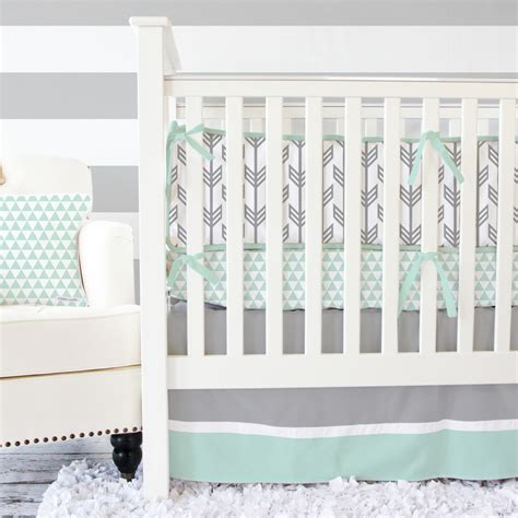 arrow baby bedding giveaway crib bedding from caden lane project nursery
