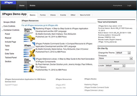 xpages javascript format date openntf new openntf release demonstration application