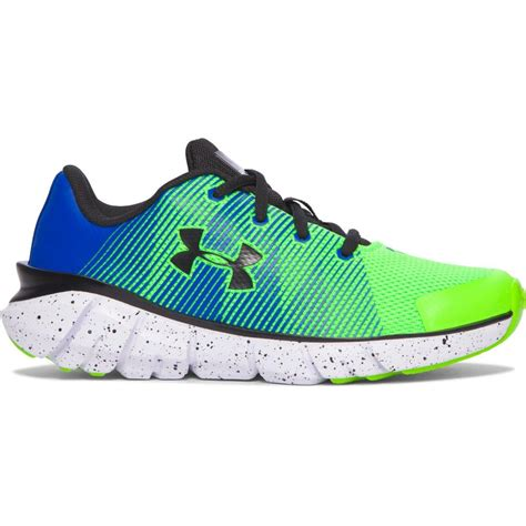 armour youth running shoes armour scramjet running shoes for green blue