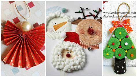 imagenes navideñas reciclaje 6 incre 237 bles manualidades navide 241 as para hacer con ni 241 os