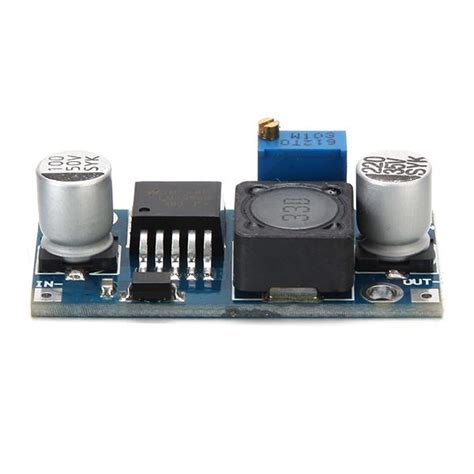 Lm2596 Adjustable Dc Dc Stepdown Module 5pcs lm2596 dc dc adjustable step power supply module sale banggood