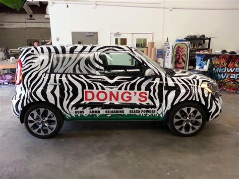 Autofolierung Zebra by Zebra Kia Soule Vehicle Wrap Kia Soul Pinterest