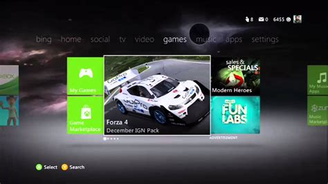xbox one home layout change new xbox live update xbox dashboard home layout changed