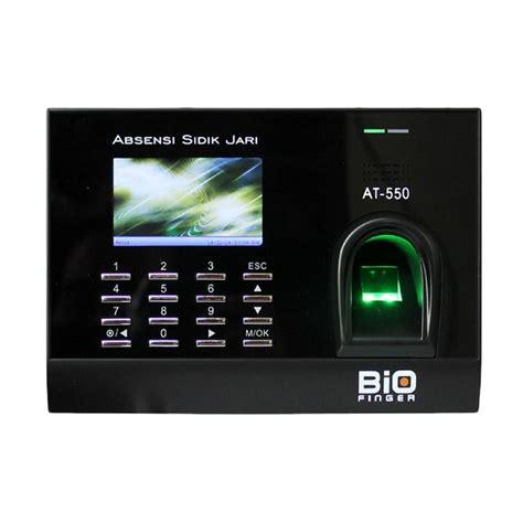 Mesin Fingerprint jual biofinger at550 fingerprint mesin absensi