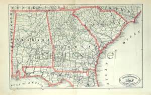 alabama and florida map map of alabama and and florida