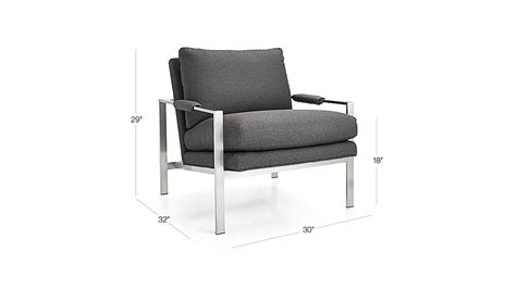 Crate And Barrel Milo Chair by Milo Baughman Chair Crate And Barrel