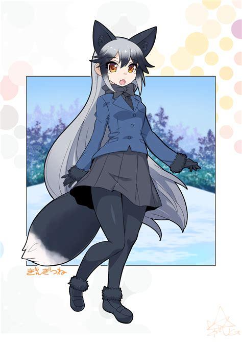 silver friends silver fox kemono friends image 2148332 zerochan