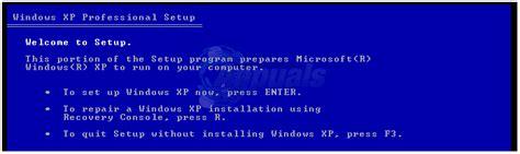 reset password windows xp recovery console best guide reset a windows xp password appuals com