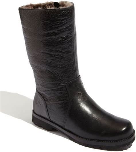 gentle souls boots gentle souls warm me up boot in black lyst