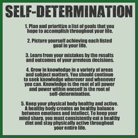 Shelf Determination by Self Determination Quotes Quotesgram