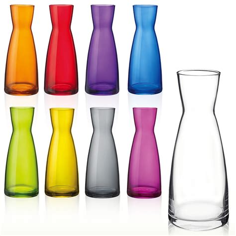 Vases At by Bormioli Retro Glass Vase Flowers 0 5 1 Litre Centre