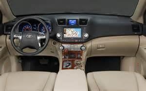 Toyota Interior 2014 Toyota Highlander Refreshing Or Revolting Cars
