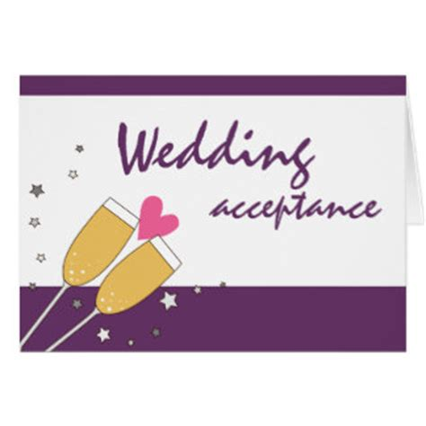 free wedding acceptance card template wedding acceptance cards photo card templates