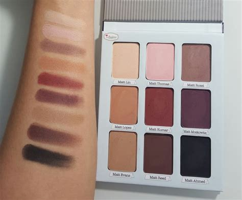 The Balm Meet Matte Makeup 101 best swatches dupes images on