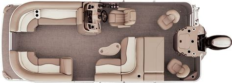 pontoon floor plans sx22 cruise fishing pontoon boats by bennington